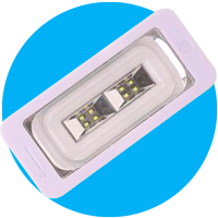 lampara de luz led para emergencias